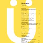 Zeitschrift ÜBERSETZEN: Artikel über Theaterübersetzen