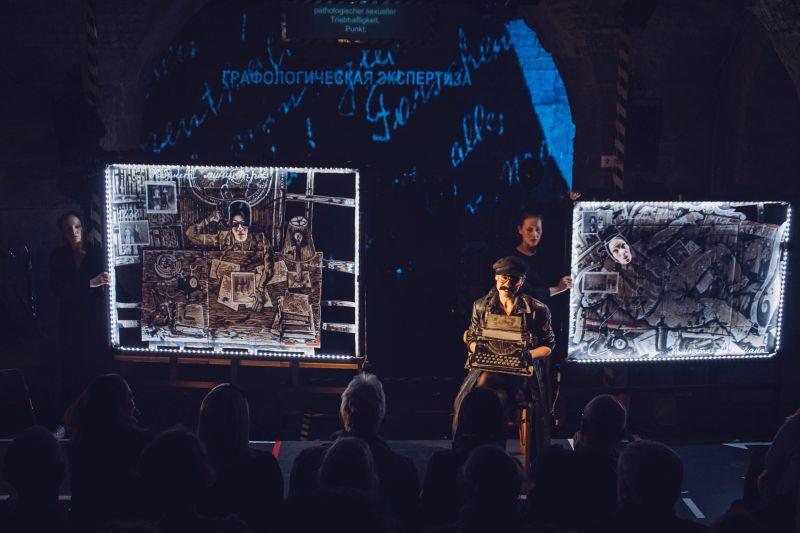 Bild aus Mörder unter uns, Teatr Pokoleniy, 2019